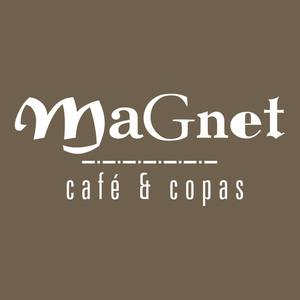 Magnet bar cafe   copas logo