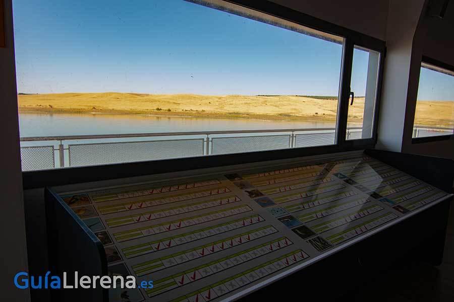 Observatorio de aves / Pantano de Llerena
